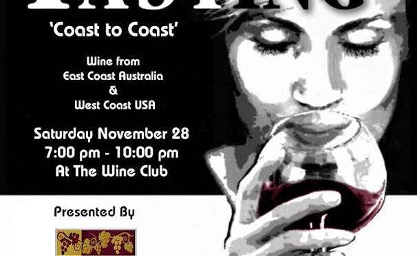 Wine by Chris Urbano and The Wine Club's New World Wine Tasting Event