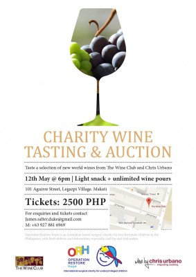 ORH - Charity wine tasting